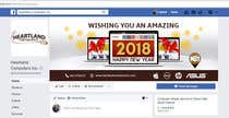 Graphic Design Contest Entry #72 for Design 2018 New Year Facebook Cover Page