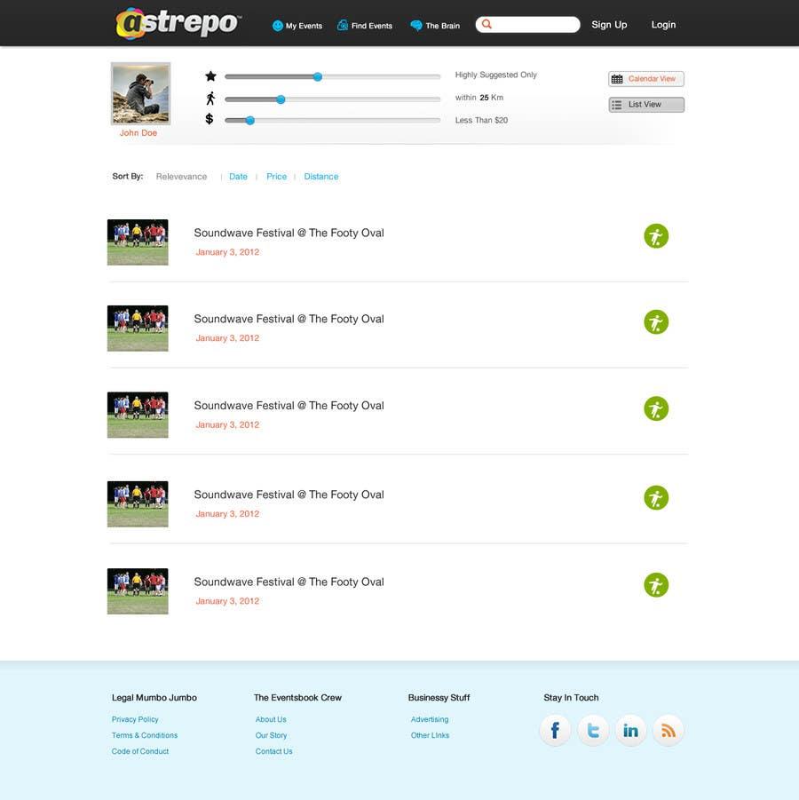 Konkurrenceindlæg #                                        21                                      for                                         Website Design for Astrepo