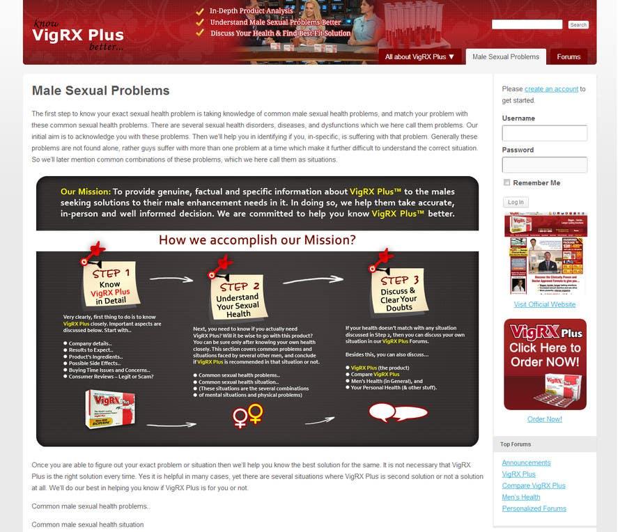 """Kilpailutyö #                                        27                                      kilpailussa                                         Graphic Design for """"how we accomplish our mission"""" of www.knowvigrxplusbetter.com"""