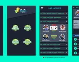 nº 25 pour Logo and App Screens for my Tennis Scores App par Sithuma