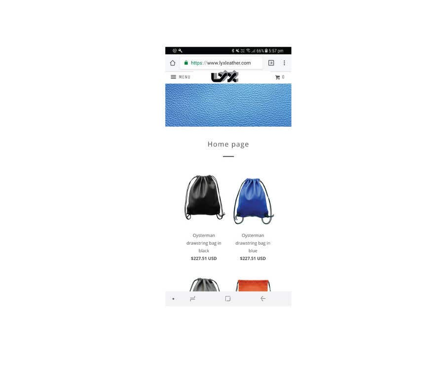 62cc52052f4 Entry #132 by razzak2987 for Logo for premium japanese leather bag ...
