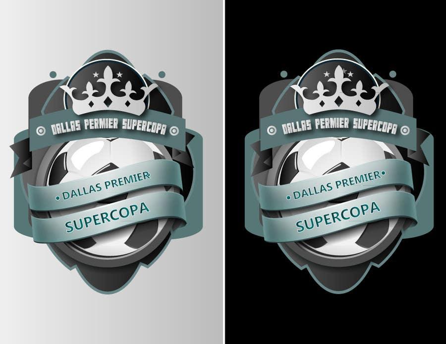 #352 for Logo Design for Dallas Premier Supercopa by SergioLopez