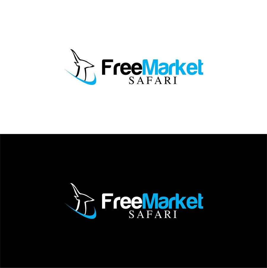 #762 for Logo Design for Free Market Safari by trying2w
