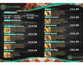 #32 for Menu for Kabsa House by qamarkaami