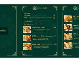#30 for Menu for Kabsa House by irfannosh