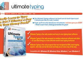 #1 untuk Website Design for www.ultimatetyping.com oleh focused