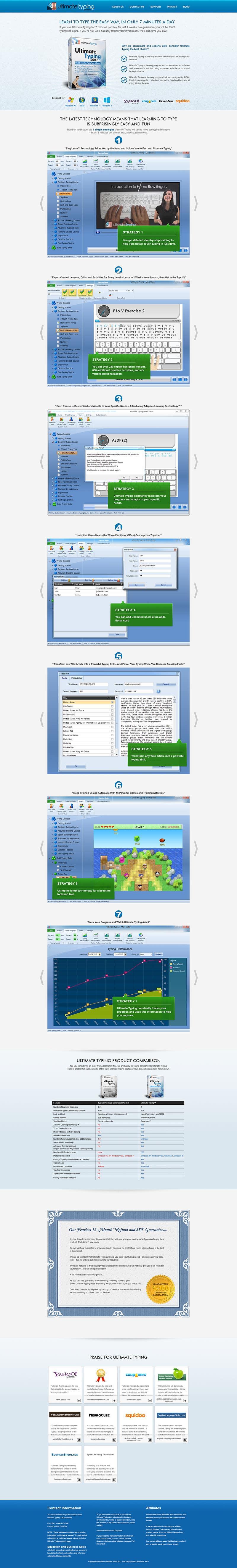 Inscrição nº                                         41                                      do Concurso para                                         Website Design for www.ultimatetyping.com