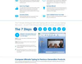 #24 para Website Design for www.ultimatetyping.com por dsgnlove