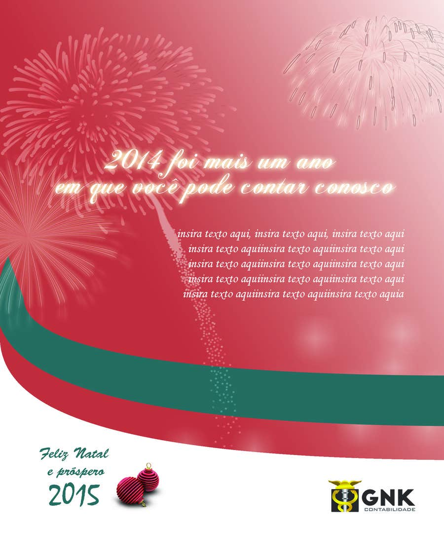 Entry #7 by rvidal for Corporate Christmas Card for an accounting ...