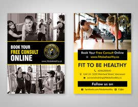 #42 for Double Sided Flyer For Personal Training Business and Studio af dinesh0805