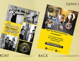 #38 for Double Sided Flyer For Personal Training Business and Studio by vinuprr