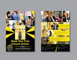 #49 for Double Sided Flyer For Personal Training Business and Studio by syhamsmt