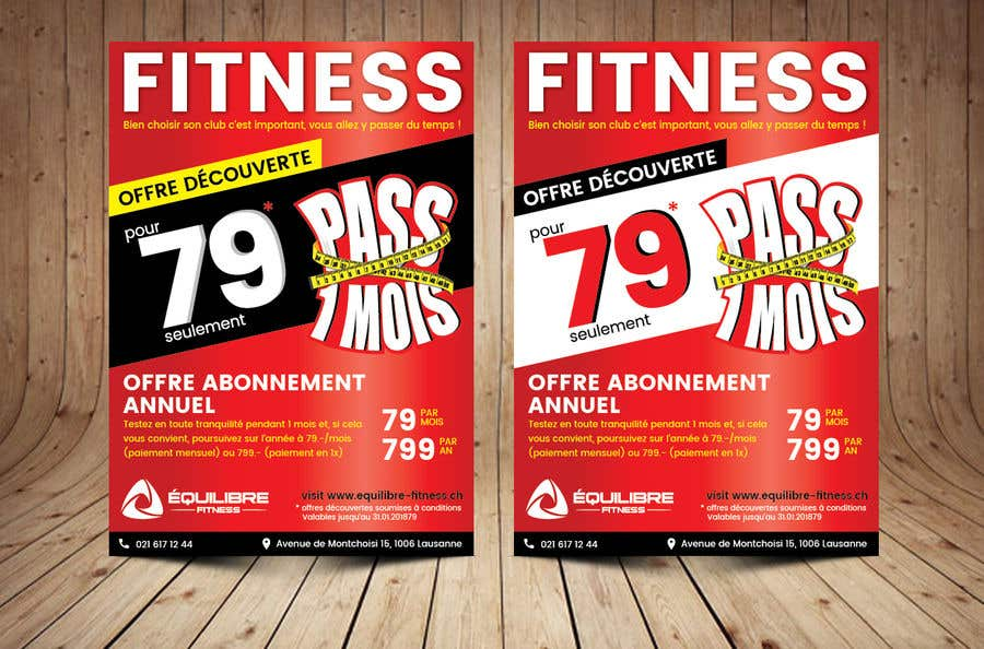 Contest Entry #29 for Design a Gym direct mail Flyer