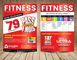 nº 47 pour Design a Gym direct mail Flyer par ThroneStark