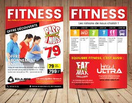 #61 for Design a Gym direct mail Flyer by ThroneStark