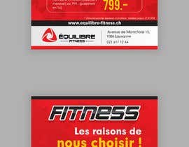 #79 for Design a Gym direct mail Flyer by ravi05july