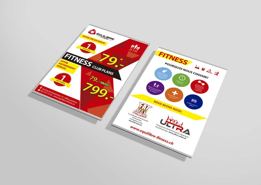 Contest Entry #99 for Design a Gym direct mail Flyer