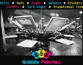 "BarkerPhoto tarafından Design a 5"" x 7"" mailer for screen printing shop için no 3"