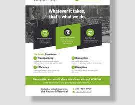 """#54 para Design a one page 8x10"""" sales brochure for REALMCOM por niyajahmad"""