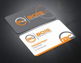 #62 for Design some Business Cards for BOIS CONCEPTION by masrufa123