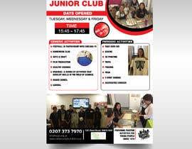 Nro 18 kilpailuun Design 2 double sided flyers to advertise a youth centre. käyttäjältä selena1