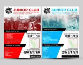 Nro 10 kilpailuun Design 2 double sided flyers to advertise a youth centre. käyttäjältä ephdesign13
