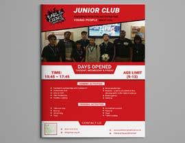 Nro 25 kilpailuun Design 2 double sided flyers to advertise a youth centre. käyttäjältä Forhad95s