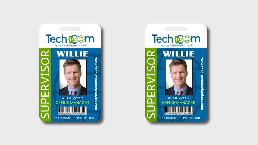 Entry 48 By Diegoseabra For Design Company Id Badges For Employees Freelancer