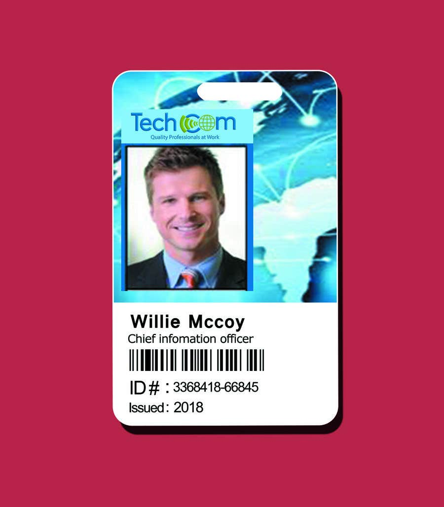 entry 58 by designermur for design company id badges for employees
