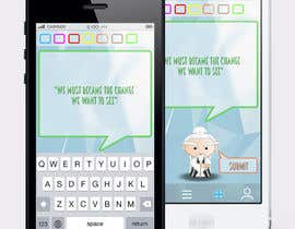 #11 for Design an App Mockup for new Quotes App af Pac1f1cus
