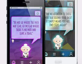 #16 for Design an App Mockup for new Quotes App af Pac1f1cus