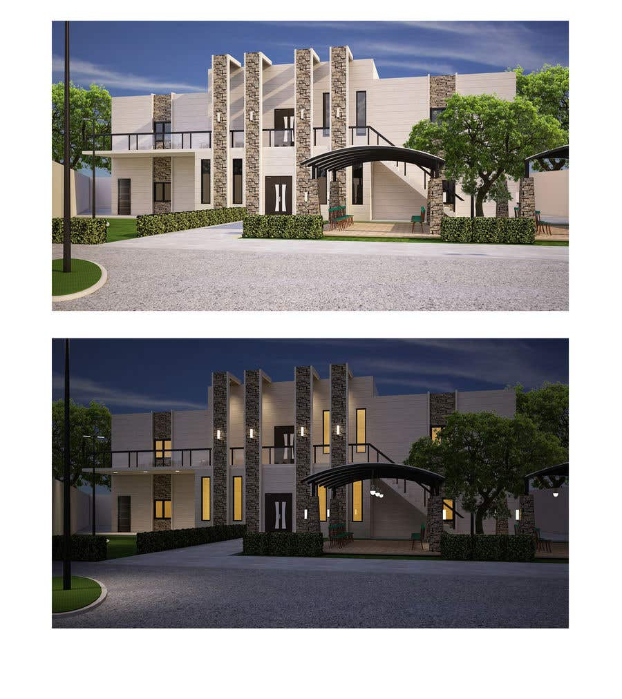 Entry #122 by alvinbacani for House and Landscaping - Schematic and