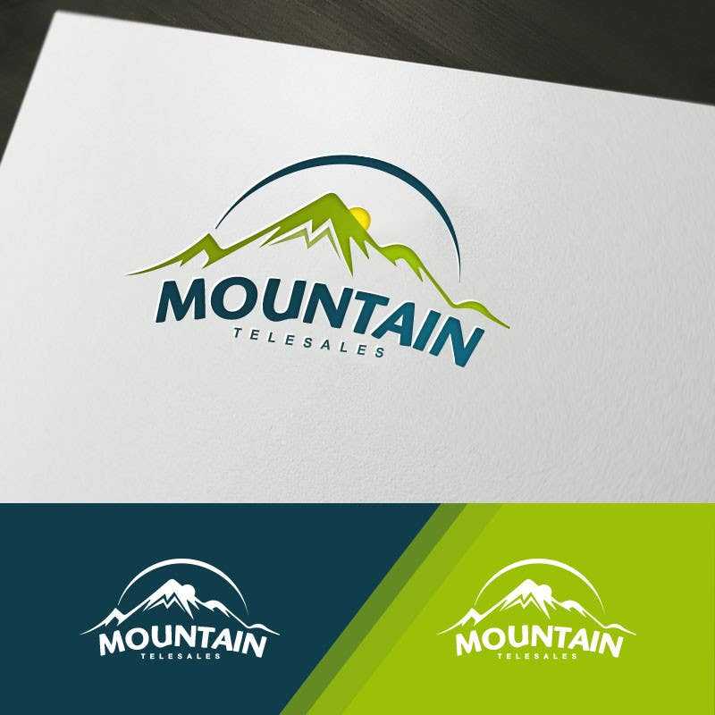 Penyertaan Peraduan #                                        3                                      untuk                                         Mountain TeleSales Logo