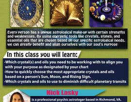 Astrology and Crystals Lecture Flyer | Freelancer