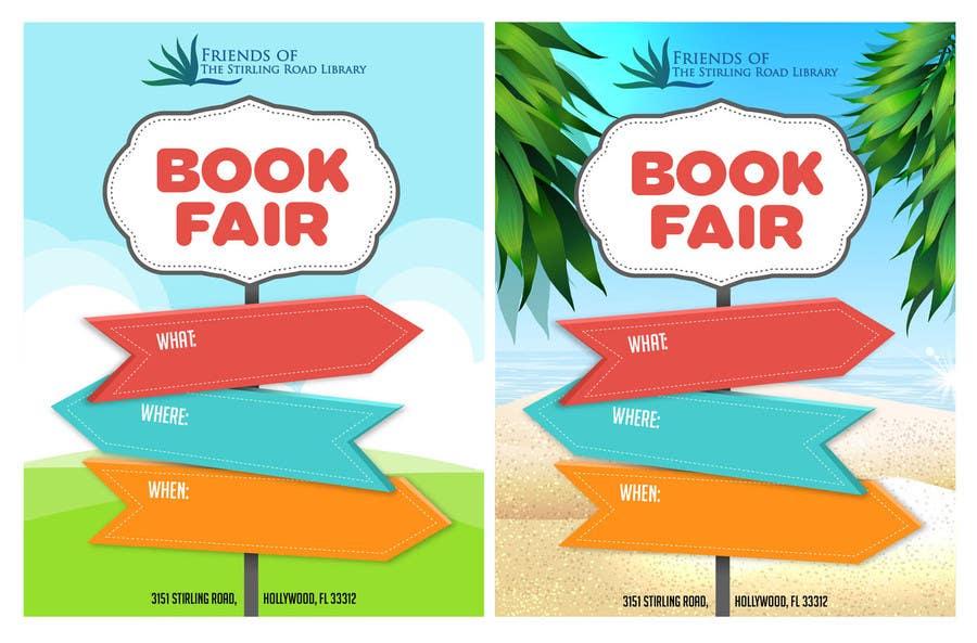 Penyertaan Peraduan #                                        12                                      untuk                                         Design a Flyer for Friends of the Library