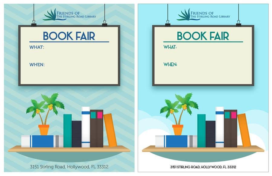 Penyertaan Peraduan #                                        18                                      untuk                                         Design a Flyer for Friends of the Library