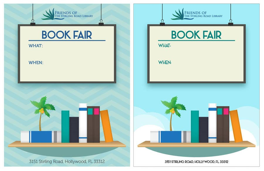 Penyertaan Peraduan #                                        23                                      untuk                                         Design a Flyer for Friends of the Library