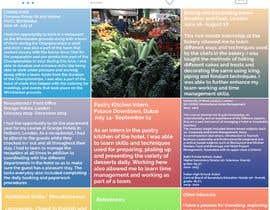 #9 untuk Design a Instagram Themed CV, oleh lizasem