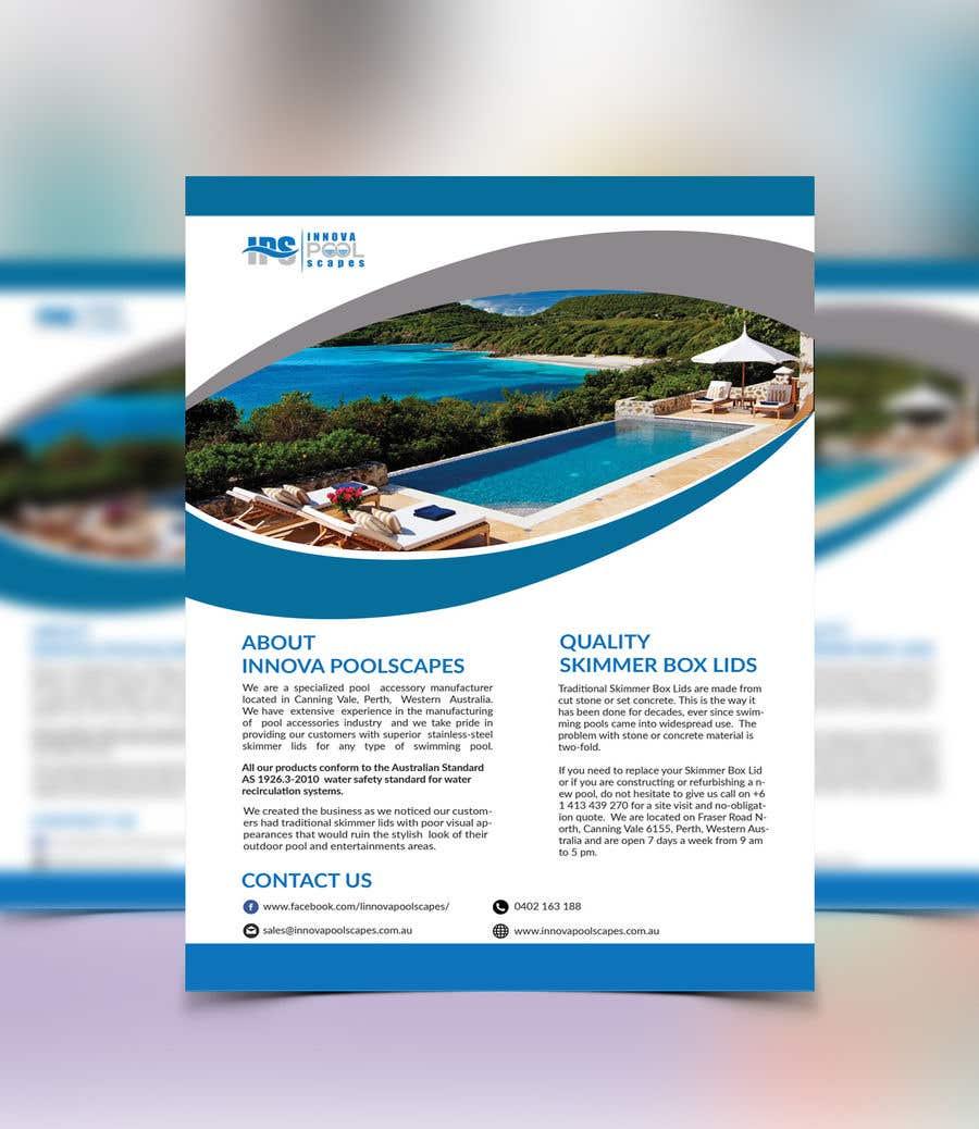 Entry 8 By Creative44 For Create A A5 Flyer Ready Print Info Brochure Custom