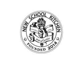 "sahilbarkat tarafından Design a Logo for ""New School Kitchen"" restaurant için no 23"