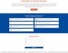 #51 for Design homepage for website trailer dealer by yasirmehmood490
