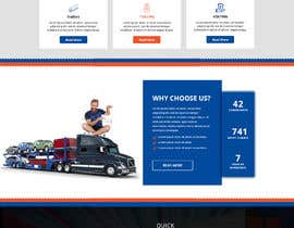 #52 for Design homepage for website trailer dealer by yasirmehmood490