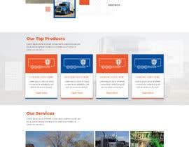 #9 for Design homepage for website trailer dealer by ByteZappers