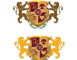 #9 สำหรับ Create a medieval Coat of Arms as company logo + brochure/triptych โดย parulgupta549
