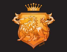 #2 สำหรับ Create a medieval Coat of Arms as company logo + brochure/triptych โดย DavidPilatowsky