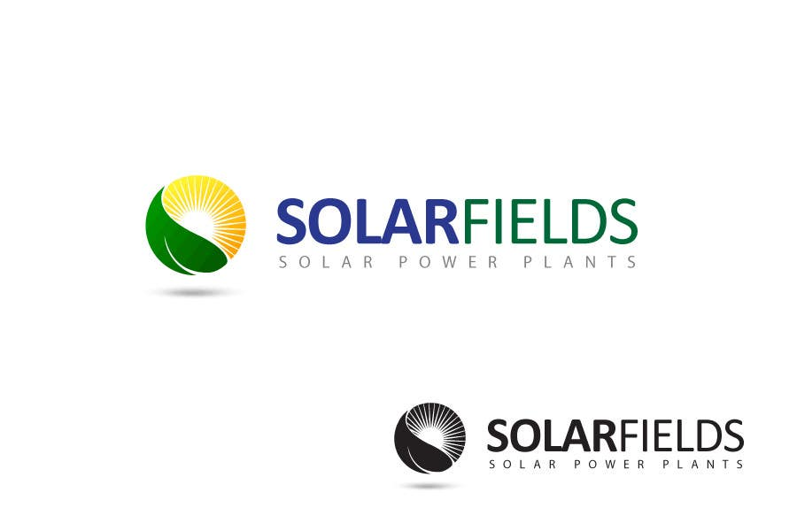 Contest Entry #                                        398                                      for                                         Logo Design for Solar Fields