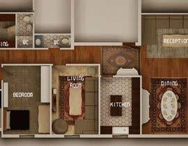 #15 for Presenting a floor plan in an attractive way by hebahelkomy