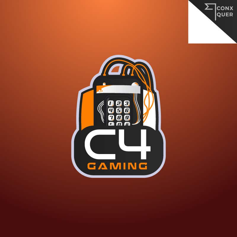 entry 14 by conxquer for c4 gaming esports team logo freelancer