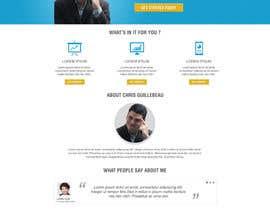 Webecter tarafından Design a Website Mockup for personal blog, landing page and blog page için no 6