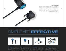 nº 102 pour Website Design for BLUSKY optical probes par Macario88